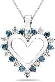 Blue diamonds!