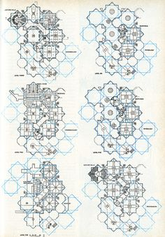 Architectural Drawing Patterns archisketchbook - architecture-sketchbook, a pool of architecture drawings, models and ideas - Progressive Architecture Walter Netsch via rndrd Architecture Sketchbook, Architecture Plan, Concept Diagram, Islamic Art, Sacred Geometry, Pixel Art, Pattern Design, Textures Patterns, How To Plan