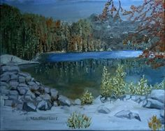 Natur oil painting on canvas