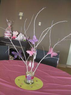 Butterflies Baby Shower Party Ideas