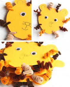 Einladung Kindergeburtstag Löwe / #waseigenes Blog Lion Birthday Invitation  / Kids Birthday / DIY