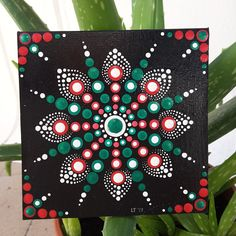 Acrylic on canvas cm 10x10