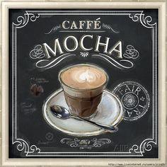 Art Print: Coffee House Caffe Mocha Art Print by Chad Barrett by Chad Barrett : I Love Coffee, Coffee Shop, Mocha Coffee, Coffee Lovers, Coffee Break, Coffee Girl, Coffee Scrub, Coffee Cozy, Fresh Coffee