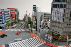 Using Paper, Artist Creates Intricately-Detailed Dioramas Of Japan - DesignTAXI.com