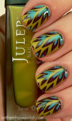 Palm Tree #Nailart Design