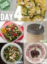 Clean Eating Challenge Day 4 This is a two-week detox plan that's actually realistic. You'll learn to eat healthy, feel awesome, and stay that way. Clean Eating Recipes, Diet Recipes, Cooking Recipes, Healthy Recipes, Advocare Recipes, Candida Recipes, Soup Recipes, Buzzfeed Clean Eating Challenge, Healthy Snacks