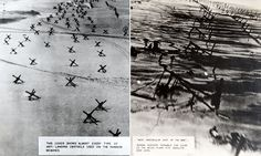 """#DailyMailUK ..... """"The incredibly detailed archive containing top secret material was discovered in a suitcase at a French flea market.. Among the documents found in the archive are incredibly detailed reconnaissance photographs of Gold Beach.. RAF airman flew in unarmed Spitfires at incredibly low levels to take vital images for the D-Day invasion plans.""""…"""