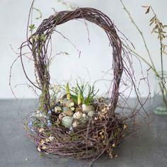 Woodland Birch Basket