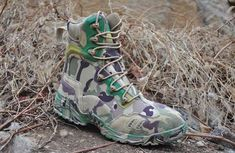 OUTDOOR SPORTS US MAGNUM ELITE US ARMY CAMOUFLAGE HIKING SHOES LEATHER MILITARY TACTICAL ANKLE BOOTS Combat Boots Style, Military Combat Boots, Spring Boots, Winter Boots, Army Shoes, Leather Motorcycle Boots, Punk Boots, Army Camouflage, Ankle Boots Men
