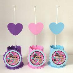 6th Birthday Girls, Lol Dolls, Princess Party, Siri, Anna, Toys, Cake, Party Favors, Embellishments