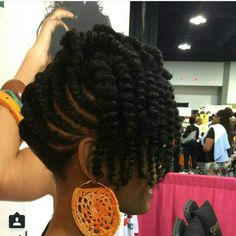 ***Try Hair Trigger Growth Elixir*** ========================= {Grow Lust Worthy Hair FASTER Naturally with Hair Trigger} ========================= Go To: www.HairTriggerr.com ========================= This Twisted Updo is Gorgeous!!!