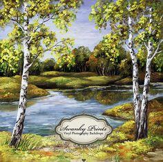 Lake Scene - Oz Backdrops and Props