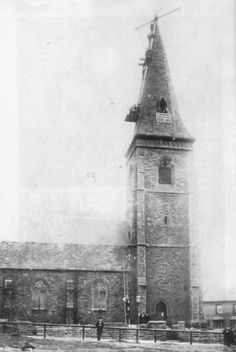 St Andrew's church, Bordesley. Demolished in 1985.