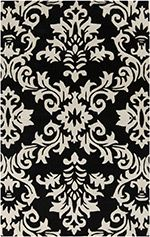 Showcasing a damask motif in brindle, this hand-tufted New Zealand wool and art silk rug is equally at home anchoring your breakfast table or living room sea. Rugs Usa, Hand Tufted Rugs, Contemporary Rugs, Joss And Main, Throw Rugs, Damask, Miniature, Area Rugs, Tapestry