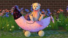 Teddy On The Moon Set at Sanjana sims