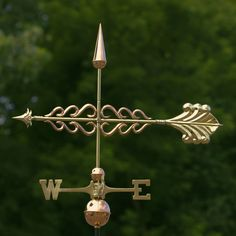 Features:  -Include rod, directional set, spacer balls and installation instructions.  -Polished copper with solid brass and copper components.  Product Type: -Weathervane.  Subject: -Novelty.  Copper