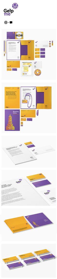 corporate identity / GELPME.COM by Vova Lifanov