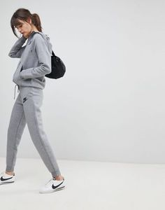 Nike Rally Slim Fit Sweatpants In Grey. something like this would be cute after i've lost some weight