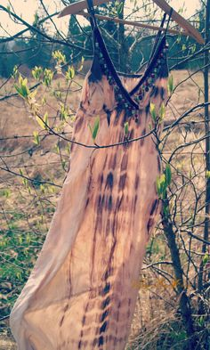 altered couture maxi dress, hippie dress, hand dyed beaded maxi, festival hippie fashion, boho, free people, country chic maxi dress