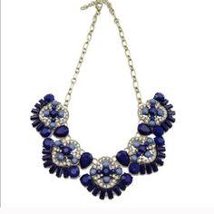 Beautiful blue fan necklace Gorgeous! T&J Designs Jewelry Necklaces