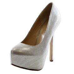 Share the joyShare the joyMetallic Sparkle Stiletto High Heel Platform Pumps Women Dress Shoessynthetic Share the joyShare the joy