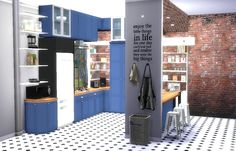 Kitchen #2   Sims4Luxury