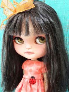 Custom Icy Doll by Marina Like Blythe Changing Eyes Original Doll by Arker   eBay