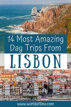 Here are THE 14 most amazing and best day trips from Lisbon that are just a short ride away and guarantee you an unforgettable day! #lisbon #portugal #europe #lagos #porto | Travel to Portugal | What to do in Portugal | Places to See in Portugal | Lisbon Travel Visit Portugal, Portugal Travel, Lisbon Portugal, Road Trip Europe, Europe Travel Guide, Travel Guides, Poland Culture, Countries Europe, Day Trips From Lisbon