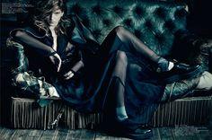 Caterina Ravaglia | Paolo Roversi | 7000 Magazine S/S 2012 | Love &Distrust