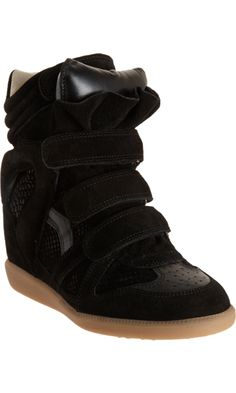 Unas zapatillas con taco escondido: Wedge Sneakers