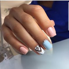 Want to know how to do gel nails at home? Learn the fundamentals with our DIY tutorial that will guide you step by step to professional salon quality nails. Shellac Nails, Pink Nails, My Nails, Fall Nails, Nail Polish Art, Nail Art, Cute Nails, Pretty Nails, Disney Acrylic Nails