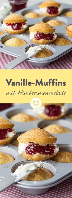 Das Rezept für Vanille-Muffins mit Himbeermarmelade und viele weitere leckere Rezepte finden Sie im Springlane Magazin.
