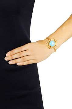 Gold plated ara cuff available only at Pernia's Pop Up Shop..#perniaspopupshop #prettystone #newcollection #festive #designer #accessories