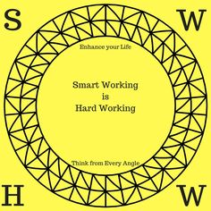 New Logo, 2017 is the year to start Enhancing your life, Thinking from every Angle! Smart Working is Hard Working.