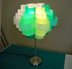 Make a lamp shade