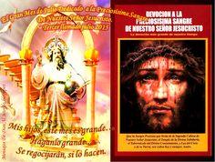 Mensajes De Dios Al Mundo: GRANDES PROMESAS EN EL GRAN MES DE JULIO DEDICADO ...