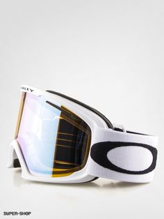 oakley goggle sunglasses  oakley goggle 02 xl (matte white w/hi yellow iridium)