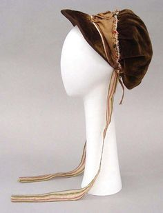 1810 - jockey cap in velvet