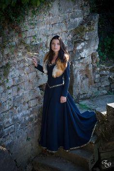 *Sur commande* Robe Médiévale Marianne