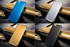 iPhone 6 Brushed Finish Steel Case at   mobilephonecases.co.nz   Gold, Silver, Black, Blue #MobilePhoneCases #CellPhoneCases #iPhoneCases #iPadCases #SamsungGalaxyCases #Gold #Blue #Silver #Black #iPhone6