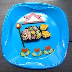 Children's Day Sushi roll (Koinobori Sushi Roll)