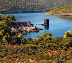 (by OlymposGR) Santorini Villas, Myconos, Skiathos, Classical Antiquity, Greek Isles, Greece Wedding, Greece Islands, Island Life, The Places Youll Go