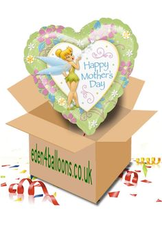 Mothers Day Balloon in a Box Mothers Day Balloons, Gifts Delivered, Flowers Delivered, Happy Mothers Day, Bouquet, Birthday Cake, Box, Floral, Handmade