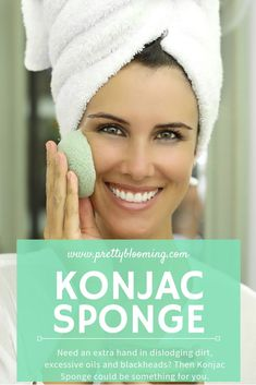 Need an extra hand in dislodging dirt, excessive oils and blackheads?  Then Konjac Sponge could be something for you...  The bouncy, rubbery sponge, made from the root of the konjac plant is a 'must have' for anyone with acne or clogged pores.   And if you are a loyal washcloth user who thinks that washing your face with a sponge like you wash your dishes is weird...  I would love to reveal you the amazing benefits of Konjac Sponge...