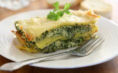 Lasagnes au fromage frais et épinards - WeCook