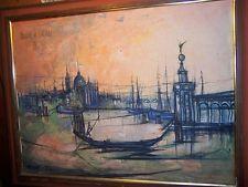 Vintage Framed Print on Canvas French Bouvier de Cachard 65