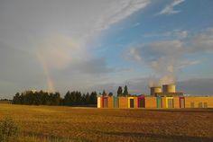 Une école installée à l'ombre d'une centrale nucléaire au mépris des règles de sécurité, c'est la France