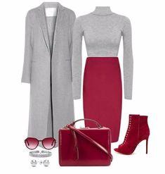 Весна 2018 -- подборка стильные образов для работы в офисе! Business Dresses, Business Attire, Classy Outfits, Chic Outfits, Spring Outfits, Fashion Outfits, Womens Fashion, Fasion, Apostolic Fashion