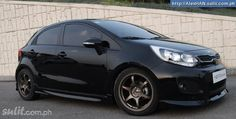 Kia Rio with body kit