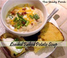 The Shady Porch: Loaded Baked Potato Soup